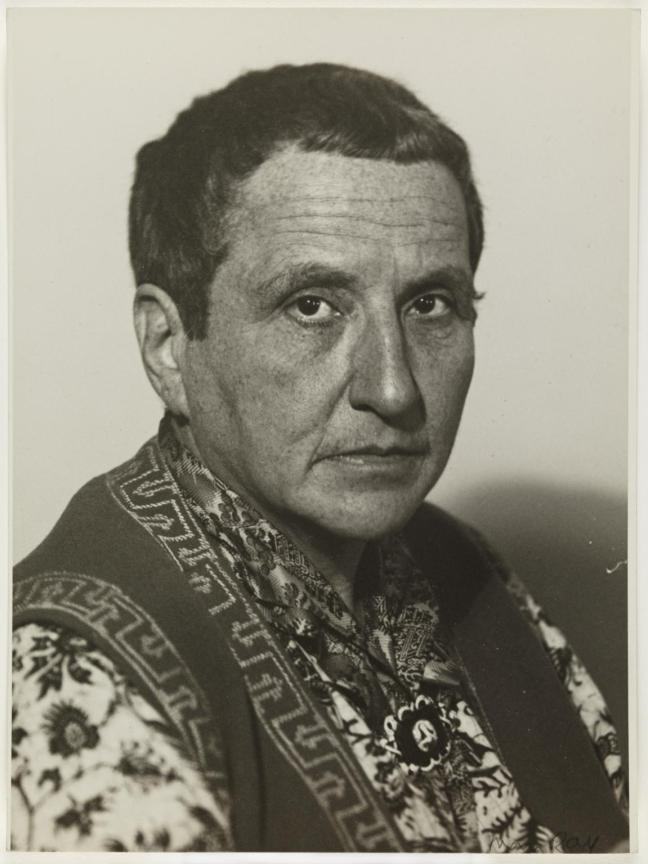 Gertrude Stein c.1920-9 by Man Ray 1890-1976